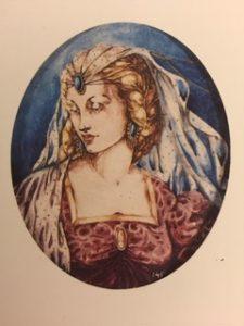 Dama antiga - Baliño