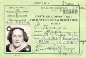 Carné resistencia Mercedes Núñez