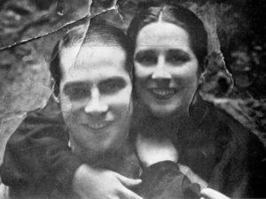 Isabel Ríos co seu compañeiro Calvelo