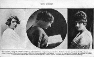 Pilar Castillo, Dora Castillo e Honoria Goicoa