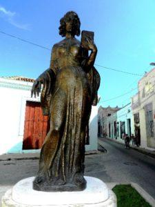 Estatura a Gertrudis Gómez de Avellaneda