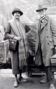 Ruth Matilda Anderson e o seu pai, Alfred T. Anderson
