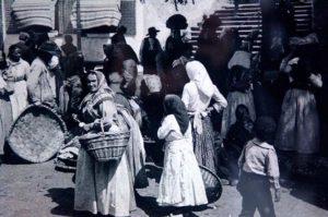 Mercado de Santo Agostiño 1905