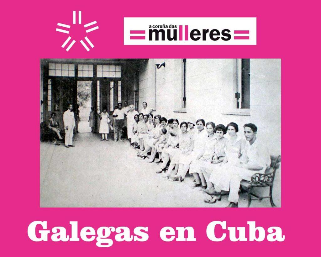 Galegas en Cuba